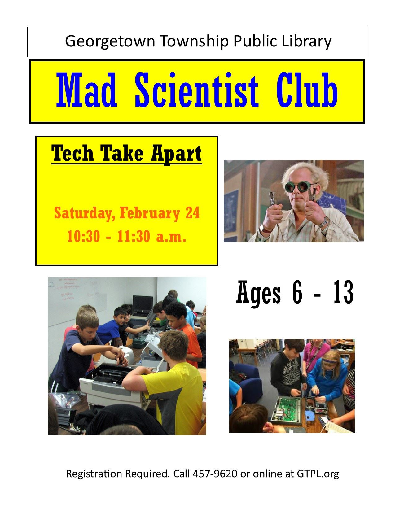 Mad scientist February 2018