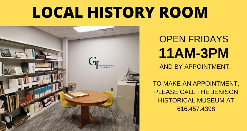 Local History Room Graphic